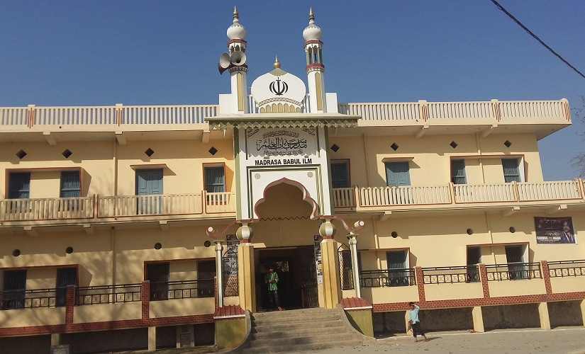 Madrasa Babul Ilm, a mosque of Shia Muslims in Mubarakpur. Firstpost/Tufail Ahmed