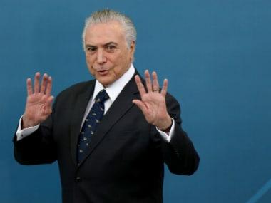 Brazil's President Michel Temer. Reuters