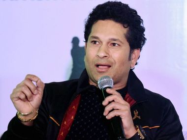 File photo of batting legend Sachin Tendulkar. PTI