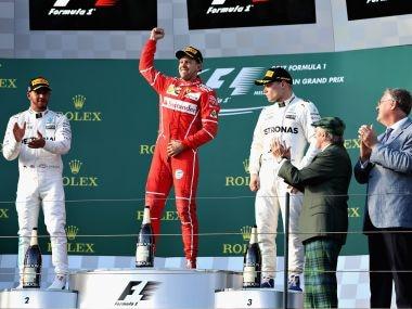 Australian Grand Prix: Sebastian Vettel wins season-opening Formula 1 race, Lewis Hamilton finishes 2nd
