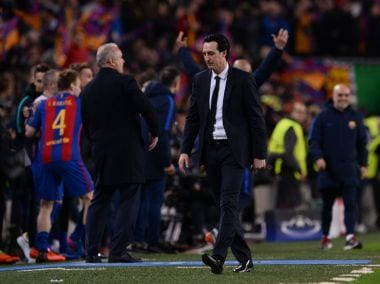 Champions League: Paris Saint-Germains collapse in Barcelona caused by Unai Emerys tactical blunders