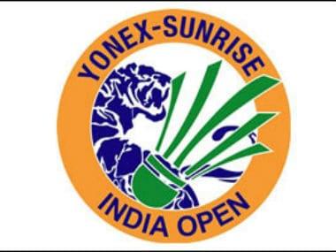 Logo of the Yonex-Sunrise India Open. Image courtesy: