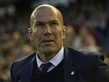 Zinedine Zidane. Getty Images