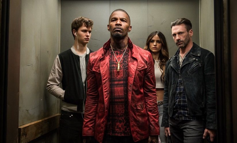 Baby Driver trailer: Kevin Spacey, Jon Hamm and Jamie Foxx terrify baby Ansel Elgort