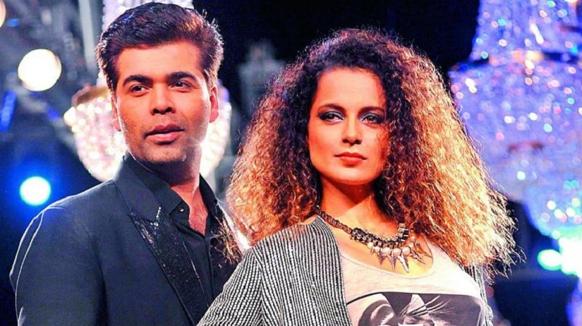 Kangana Ranaut responds to Karan Johars comments: When they go low, we go high