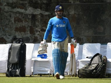 India vs Australia: MS Dhoni makes surprise visit to Ranchi stadium, checks pitch ahead of 3rd Test