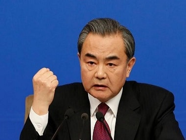 Chinese Foreign Minister Wang Yi attends an news conference at the annual session of the National People's Congress (NPC), in Beijing, China, March 8, 2017. REUTERS/Tyrone Siu