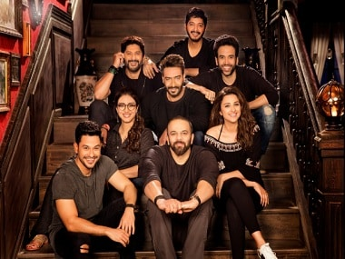 The team of Golmaal Again. Twitter