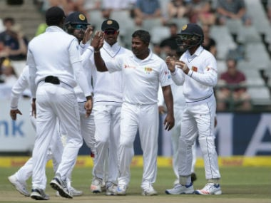 Rangana Herath becomes the most successful left-arm spinner in Tests. AFP
