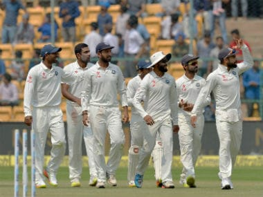 Indian cricket team. AFP