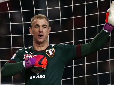 File photo of Joe Hart. AFP