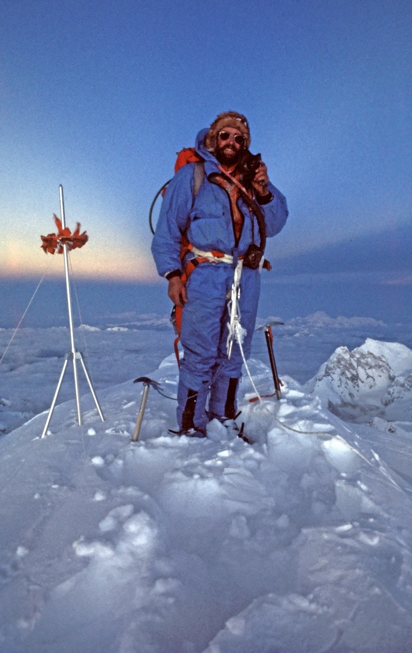 1975: Doug Scott on Everest summit