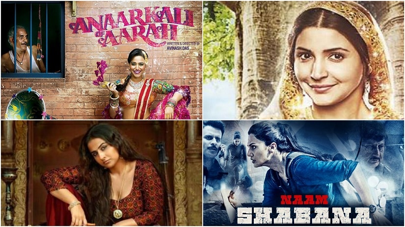 Phillauri, Anarkali of Aarah and Naam Shabana triple whammy:  Womens stories finally in vogue