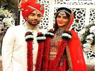 Mandana Karimi ties knot with businessman Gaurav Gupta; Bani J, Gauhar Khan attend gala affair