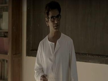 Nawazuddin Siddiqui as Saadat Hasan Manto in In Defence of Freedom. YouTube