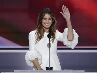 US president Donald Trump: Melania should give tips on improving poll numbers