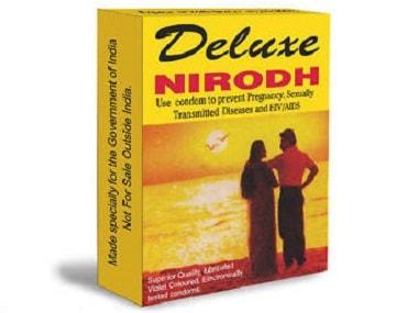 The very functional Nirodh packaging