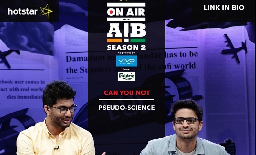 On Air With AIB. Image from Twitter