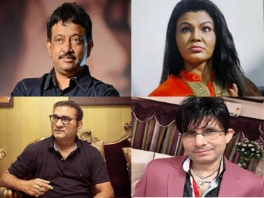 Ram Gopal Varma, Rakhi Sawant, KRK, Abhijeet: Chronicling the filth-spewing Twitter tribe