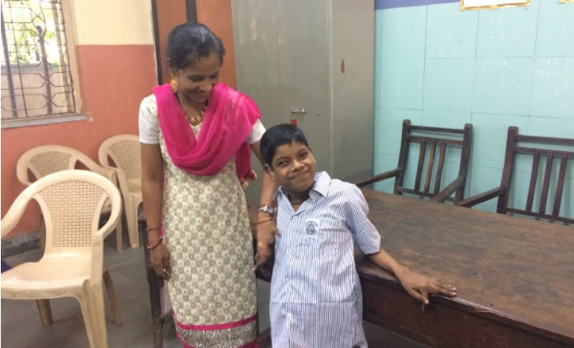 Javed Shaikh has cerebral palsy with little control over his lower limbs, hearing impairment, and a squint. IndiaSpend