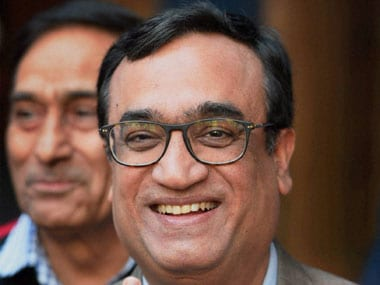 Congress leader Ajay Maken. PTI