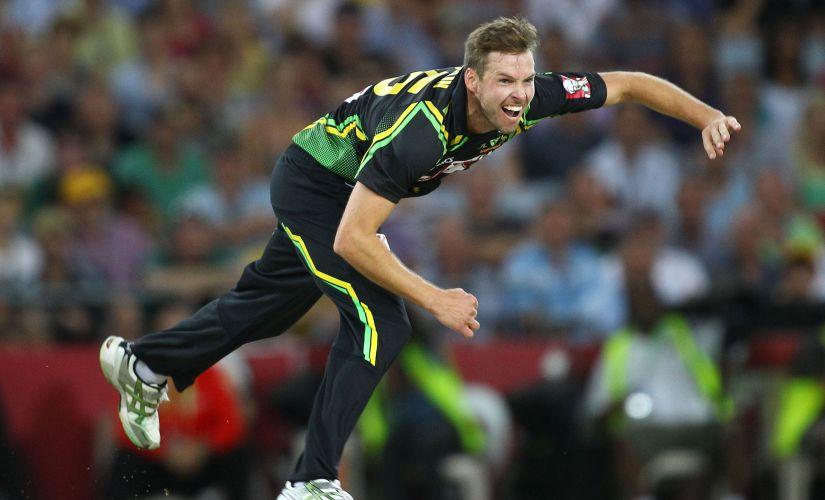 Ben Laughlin last appeared in an Australian shirt in 2013 in a T20I against Sri Lanka. GettyImages