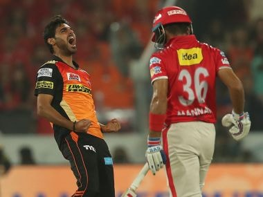 IPL 2017: Bhuvneshwar Kumars accurate, consistent bowling secures much-needed win for SRH