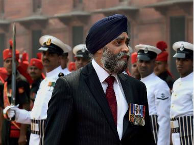 Canada defence minister Harjit Sajjan. PTI