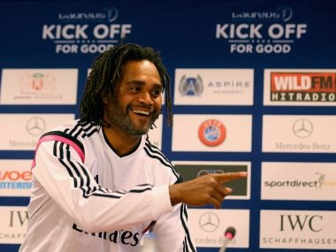 Christian Karembeu. Getty Images