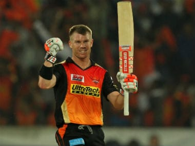 David Warner finished things off in style against Gujarat Lions. Sportzpics