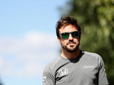 Fernando Alonso of Spain. Getty