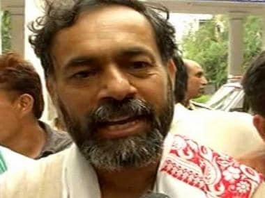 File image of Yogendra Yadav. CNN-News18