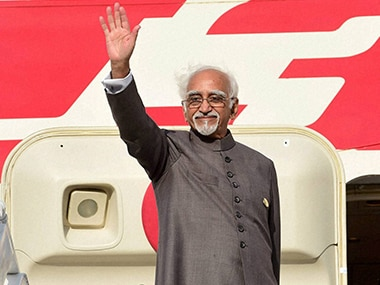 Indian companies risk-averse, prolonged govt protection made them complacent: Hamid Ansari