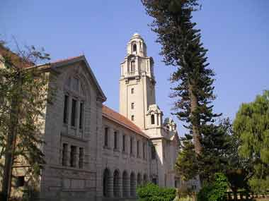 Bangalore's IISc scored the highest rank in Times Higher Education's Asia rankings for 2018. Image courtesy: Wikimedia Commons