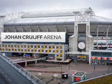 Ajax have decided to rename the Amsterdam Arena as the Johan Cruyff Arena. Twitter: @JordiCruyff