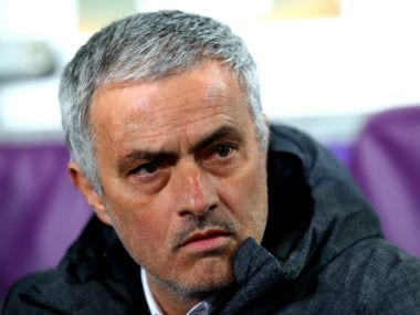 File photo of Jose Mourinho. AFP