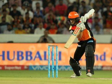 Kane Williamson of Sunrisers Hyderabad bats against Delhi Daredevils. Sportzpics/IPL