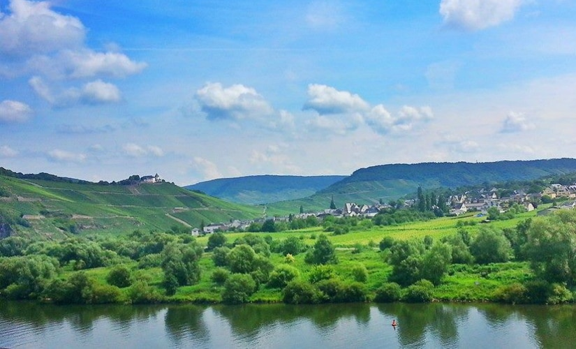 A view from the train from Aachen to Luxembourg. Firstpost/Vishnupriya Bhandaram