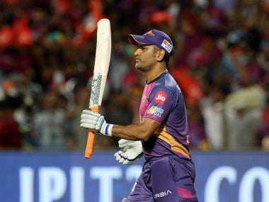 Rising Pune Supergiant's MS Dhoni during the match against Kolkata Knight Riders. IPL/Sportzpics