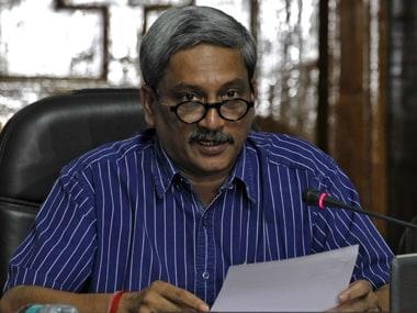 Goa CM Manohar Parrikar. PTI