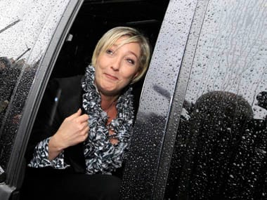 File image France's far right National Front political party leader Marine Le Pen. Reuters