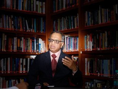 File image of NR Narayana Murthy. Reuters