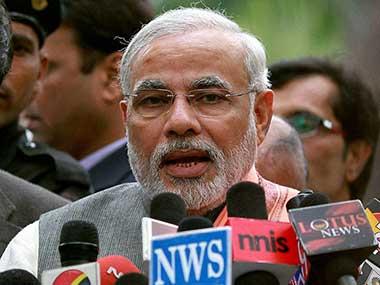 File phto of Prime Minister Narendra Modi. PTI