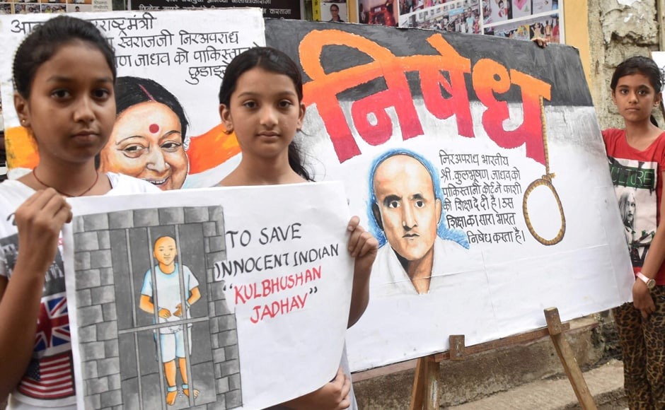 Pakistani authorities had reportedly arrested Jadhav in what they termed as a counter intelligence operation in Mashkal, Balochistan on 3 March, 2016. PTI