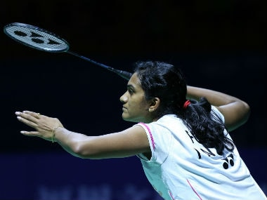 File photo of India's PV Sindhu. AFP