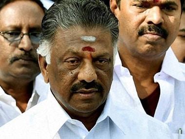 File image of O Panneerselvam. PTI
