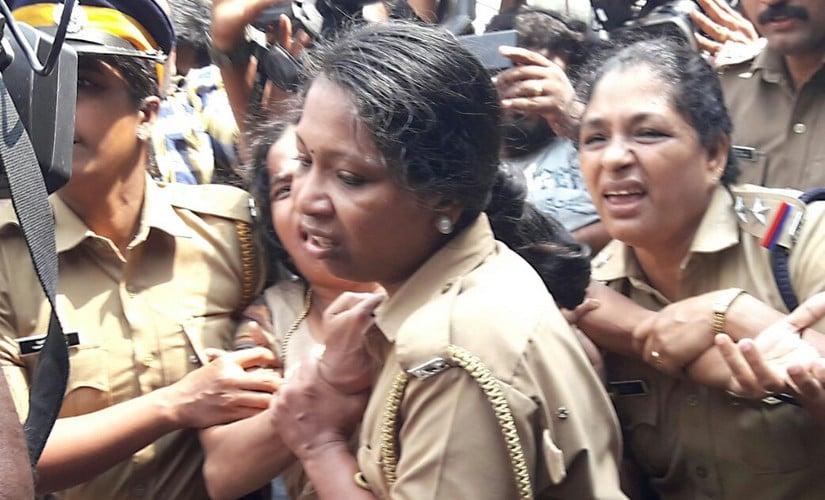 Police escorting Jishnu Prannoys mother