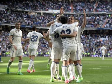 Real Madrid remain two points clear at the top of the La Liga charts. AFP