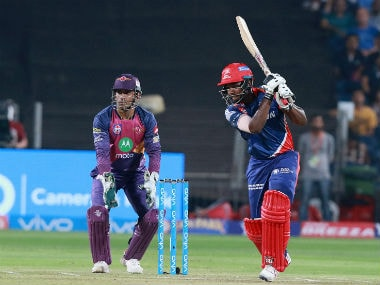 Sanju Samson in action against RPS in IPL 2017. Sportzpics