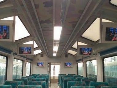 Interior of Vistadome. Image: @sureshpprabhu Twitter